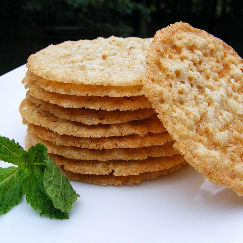Lacy Oatmeal Cookies Pookie
