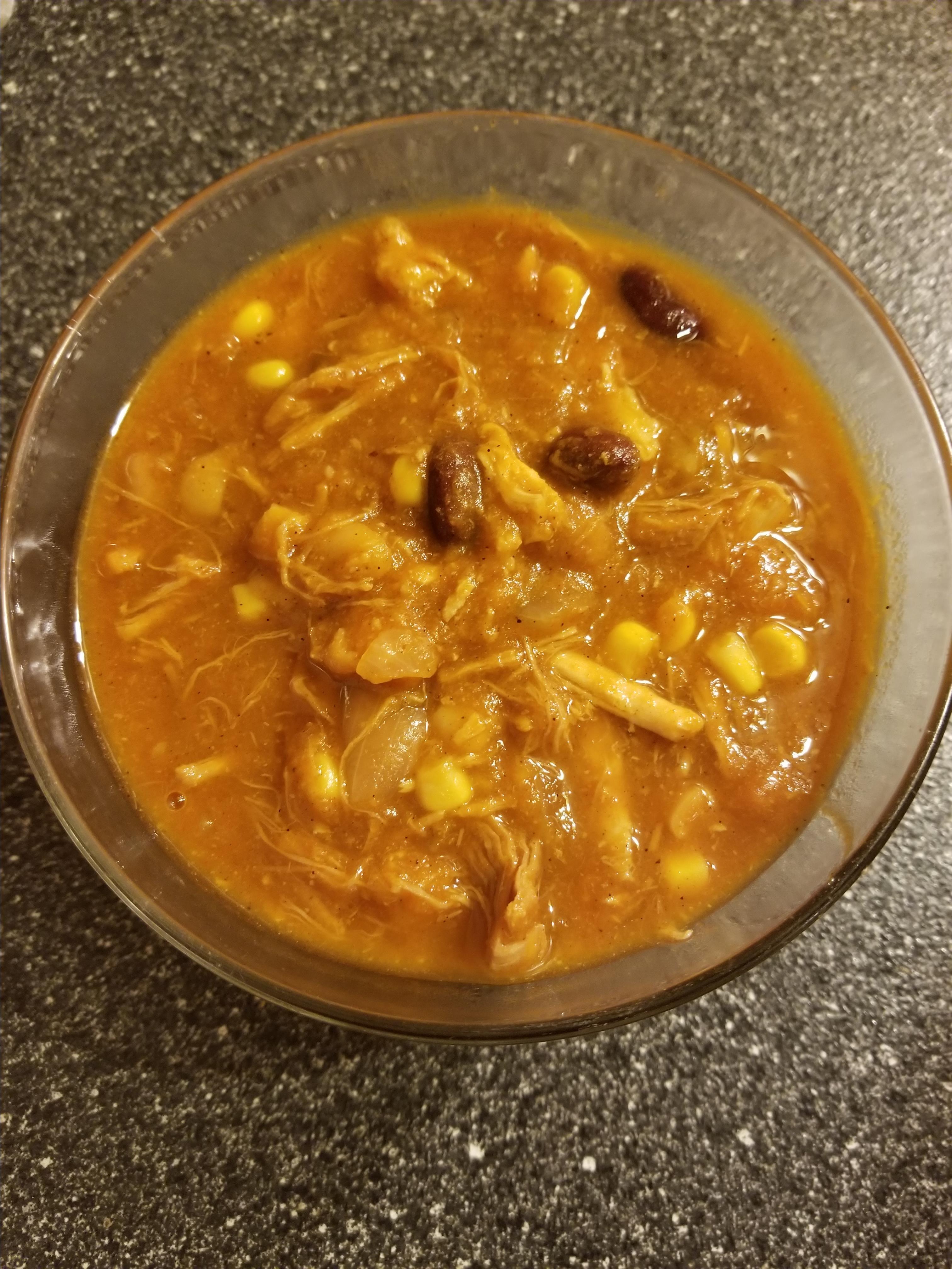 Pumpkin-Pulled Pork Chili