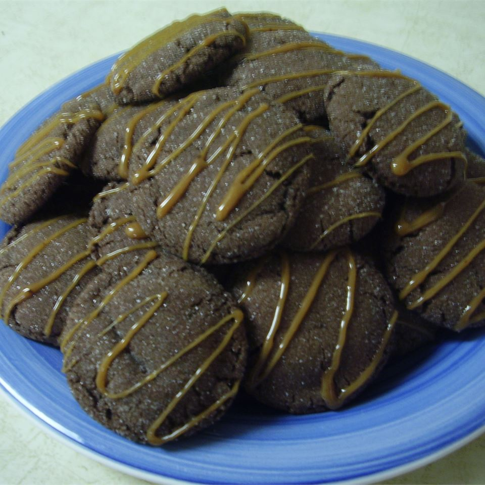 Caramel Filled Chocolate Cookies Alli G.