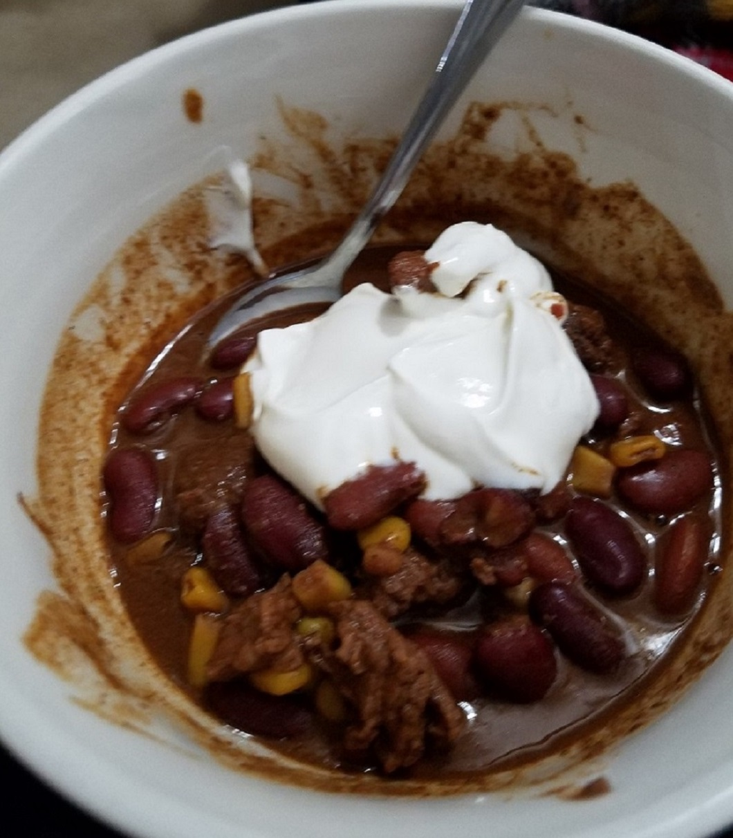 Slow Cooker Stew Beef Chili