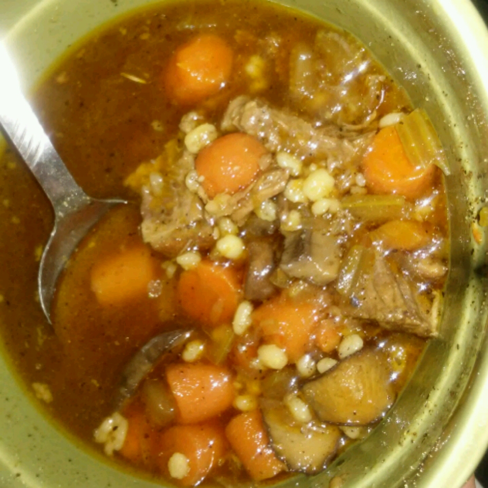 Chef John's Beef and Barley Stew
