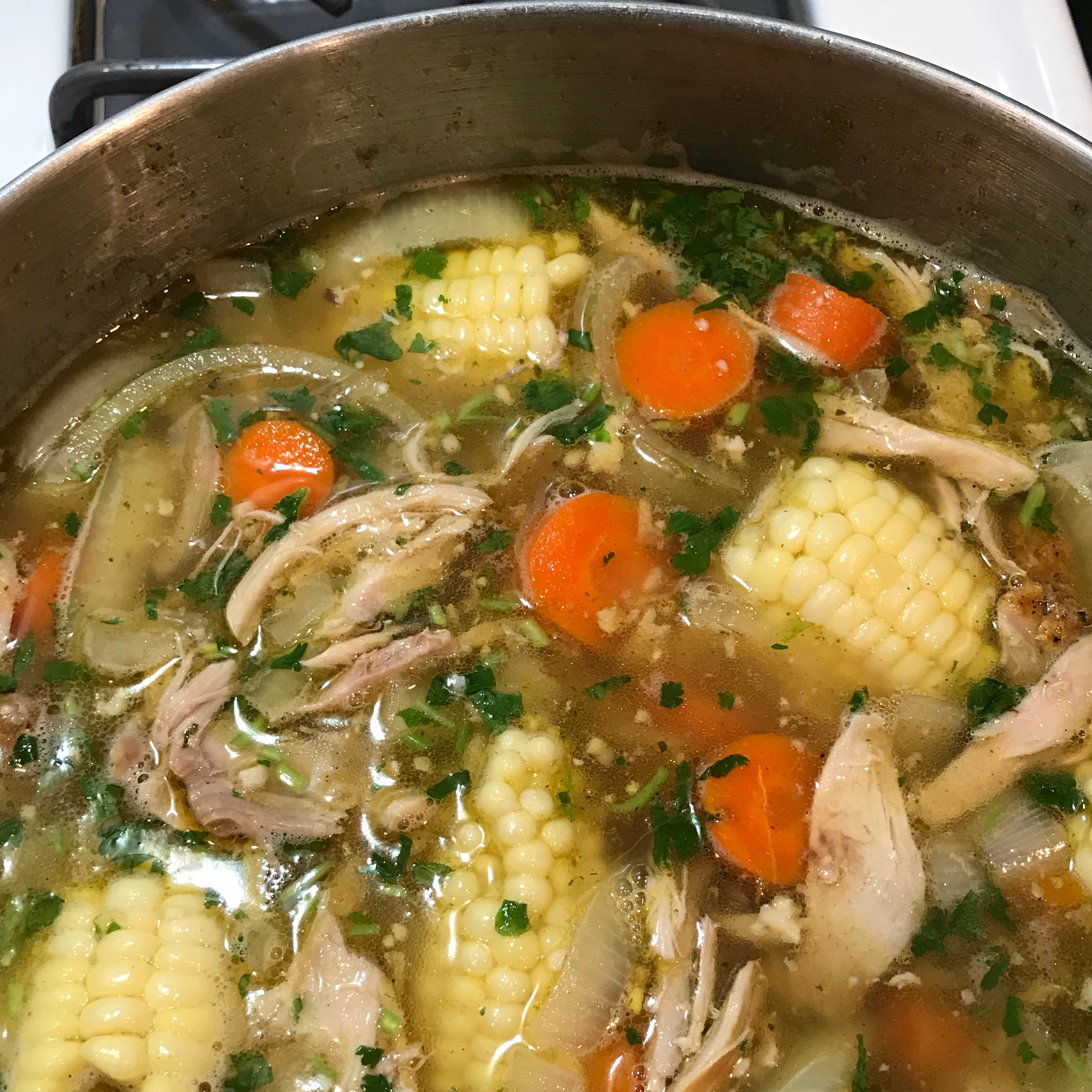 Caldo De Pollo (Mexican Chicken Soup) Pamela Woods
