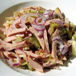 German Wurst Salad JennaBanana