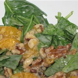 Spinach Salad with Poppy Seed Dressing McBacon