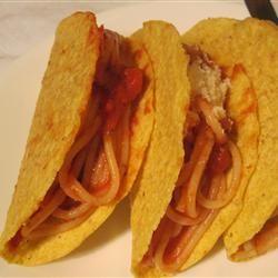 Spaghetti Tacos scratchcook