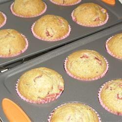 Florida Strawberry Muffins Casablancaise