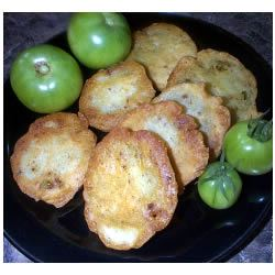 Spicy Fried Green Tomatoes April