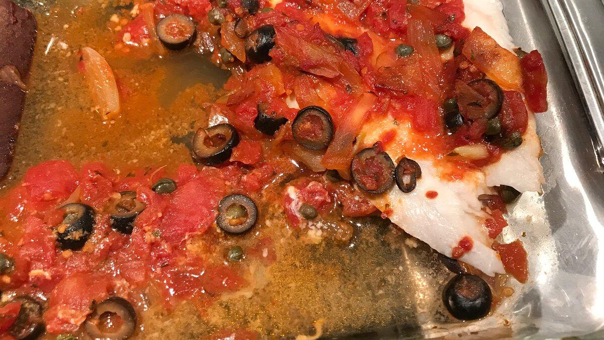 Red Snapper Livornese Recipe