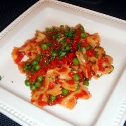 Bow-Tie Pasta With Red Pepper Sauce Jessie S.