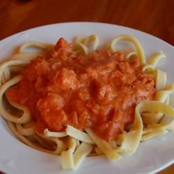 Tomato-Cream Sauce for Pasta Mizar