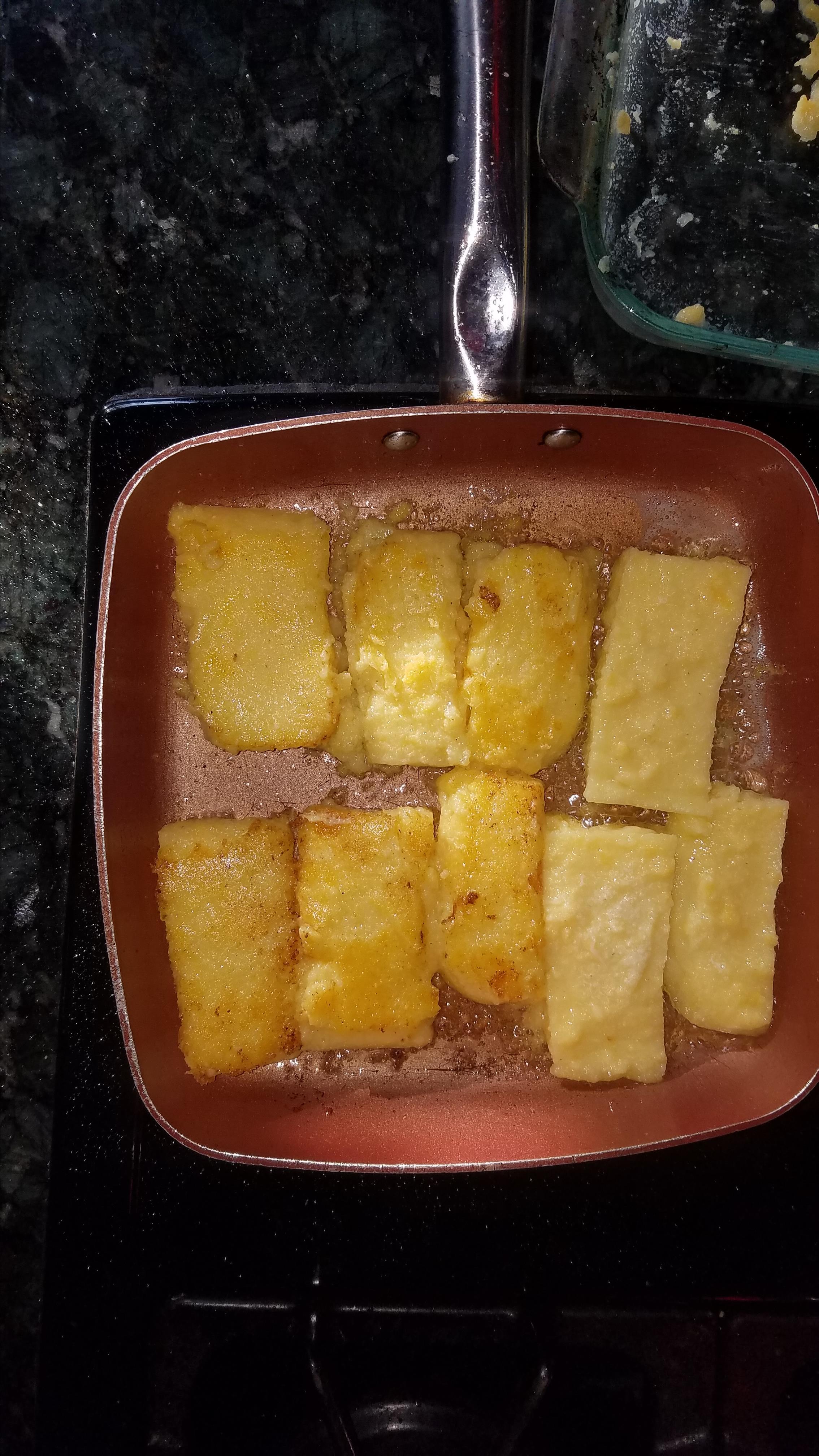 Fried Cornmeal Mush