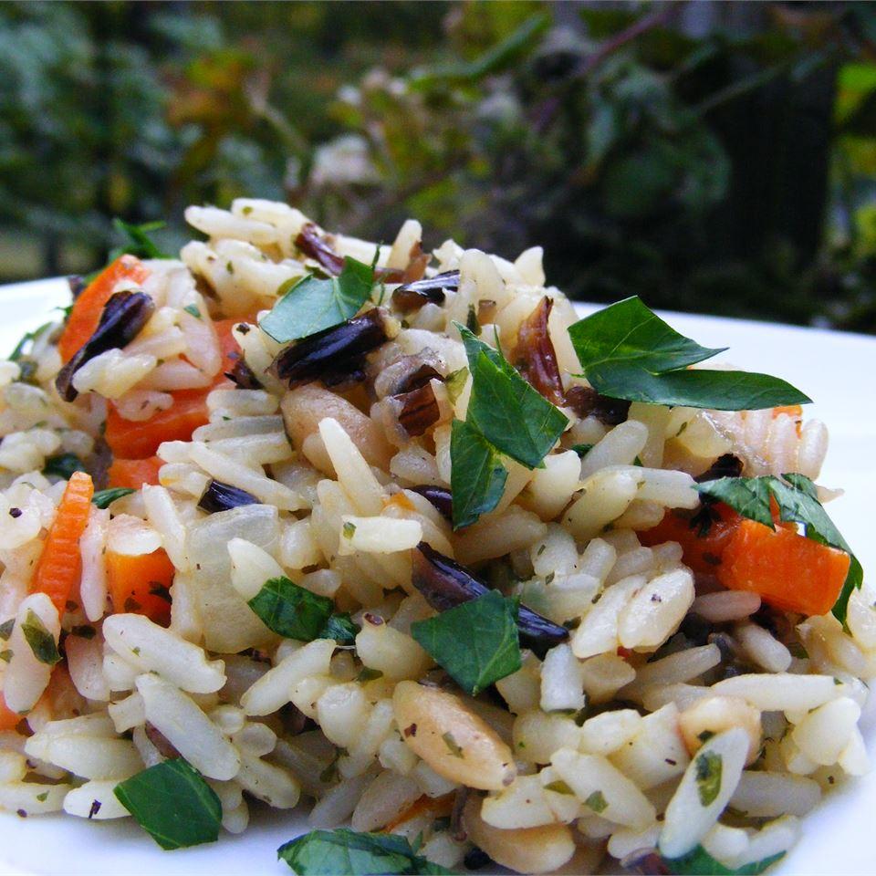 White and Wild Rice Pilaf abapplez