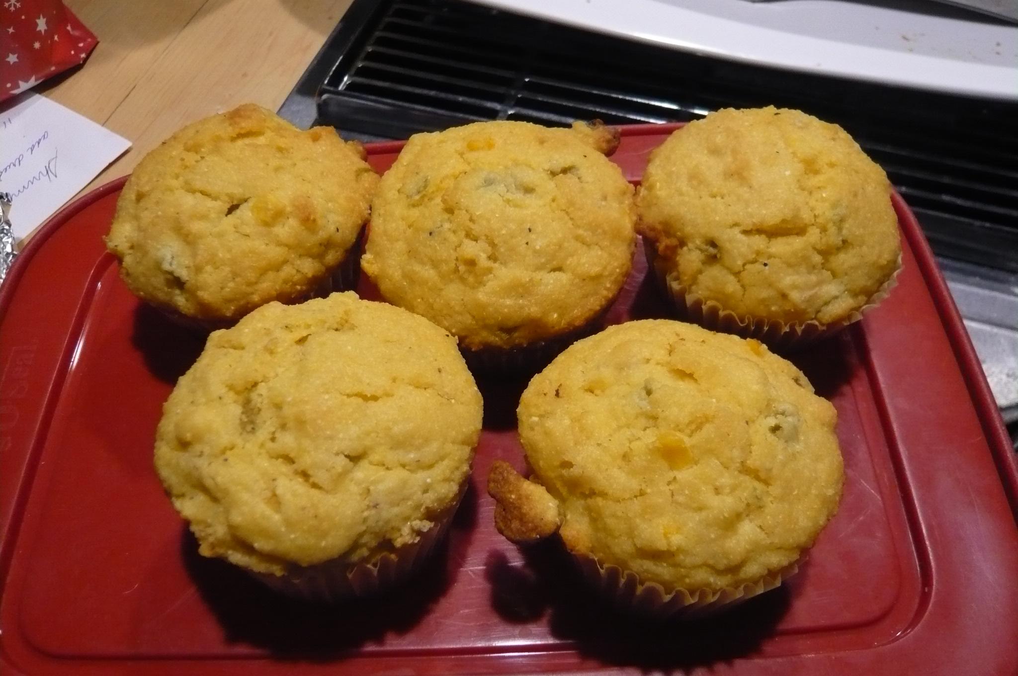 Savory Corn Muffins Jan Mowbray