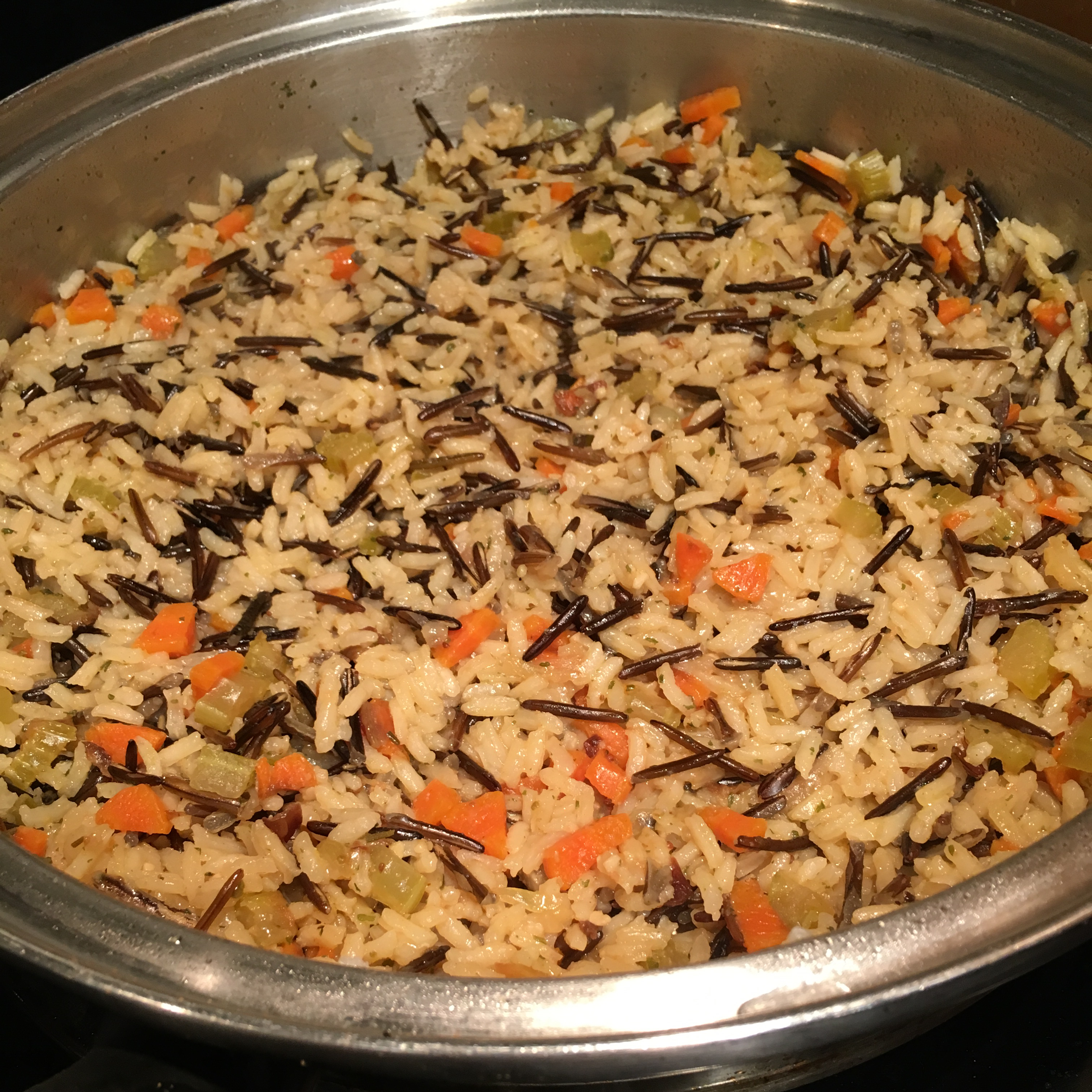 White and Wild Rice Pilaf talldrink419