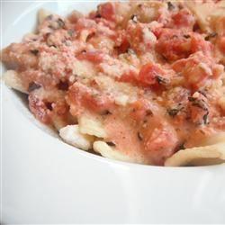 Tomato-Cream Sauce for Pasta