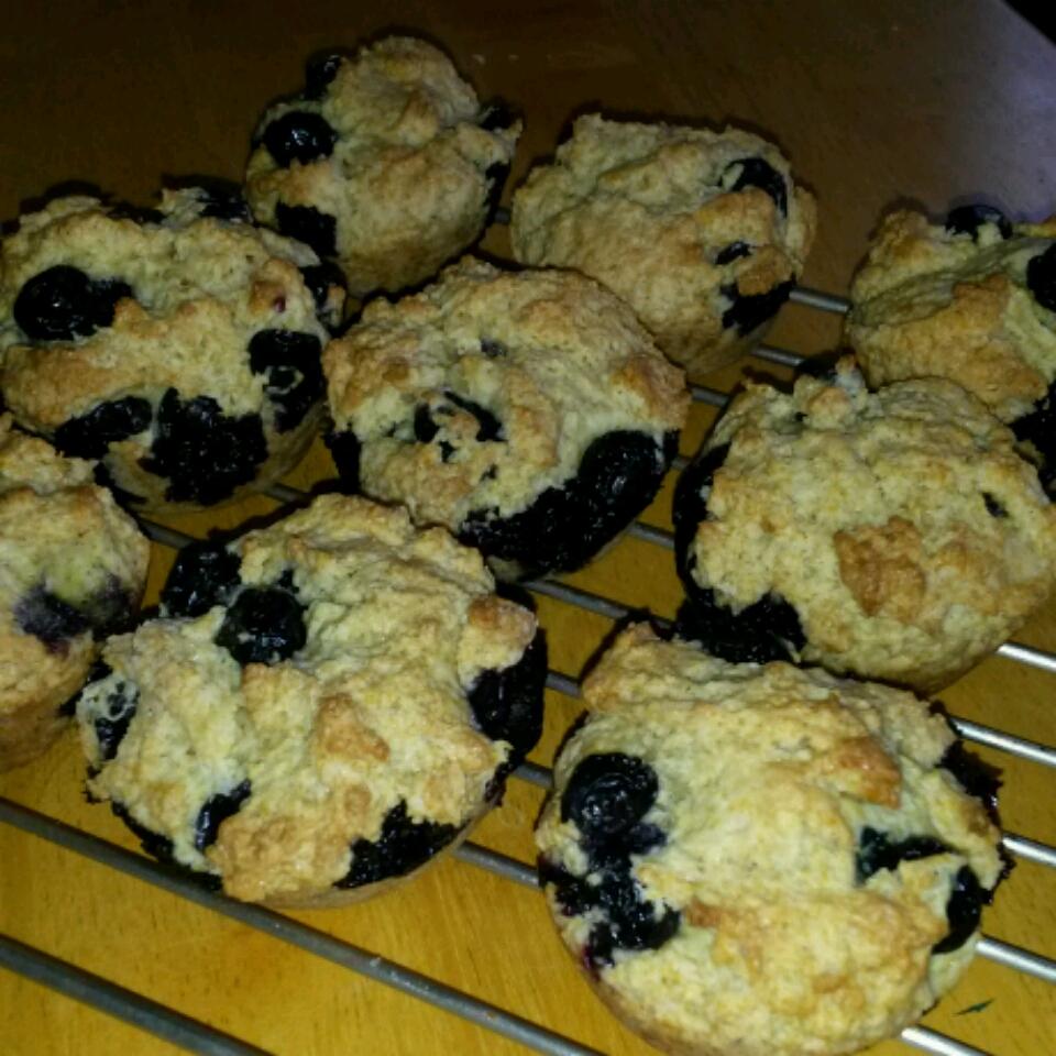 Vegan Blueberry Muffins Debbie