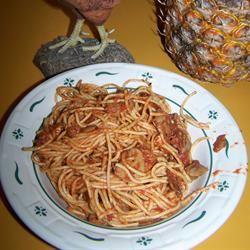 Bacon and Mushroom Spaghetti CindyC