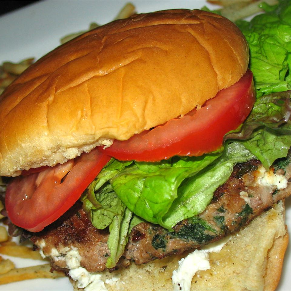 Goat Cheese and Spinach Turkey Burgers PAMELA D. aPROpos of nothing