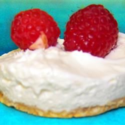 Two Step Creamy Cheesecake Sarah