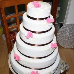 Blue Ribbon Whipping Cream Pound Cake CakeArtist