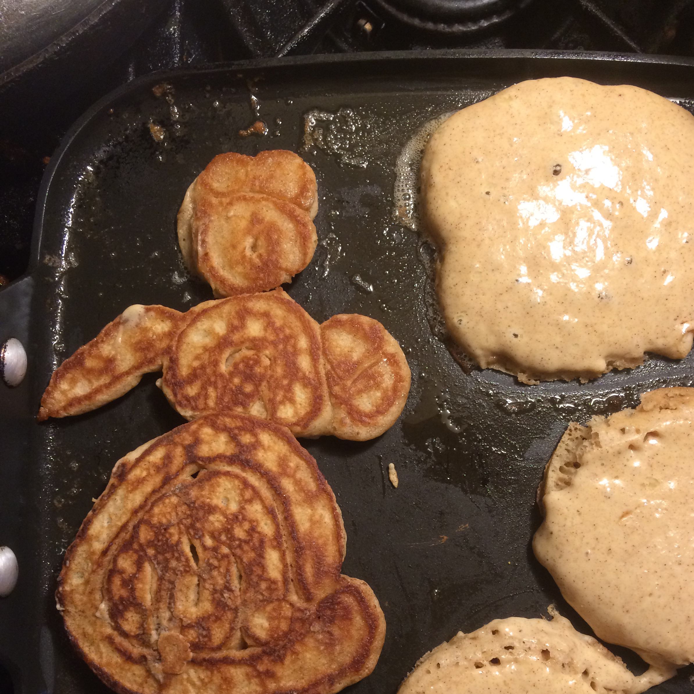 Cinnamon Griddle Cakes ding dong