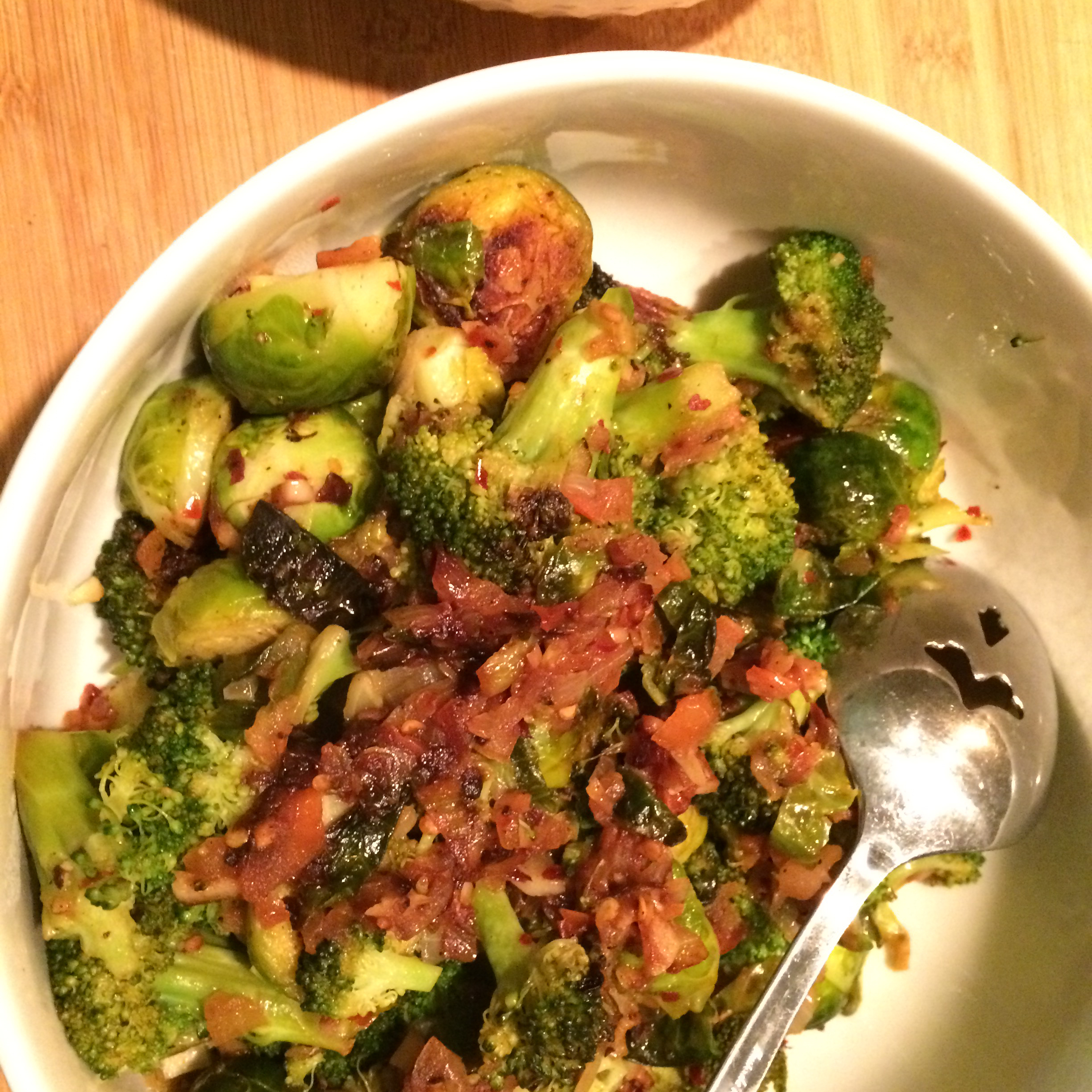 Broccoli and Brussels Sprout Delight James