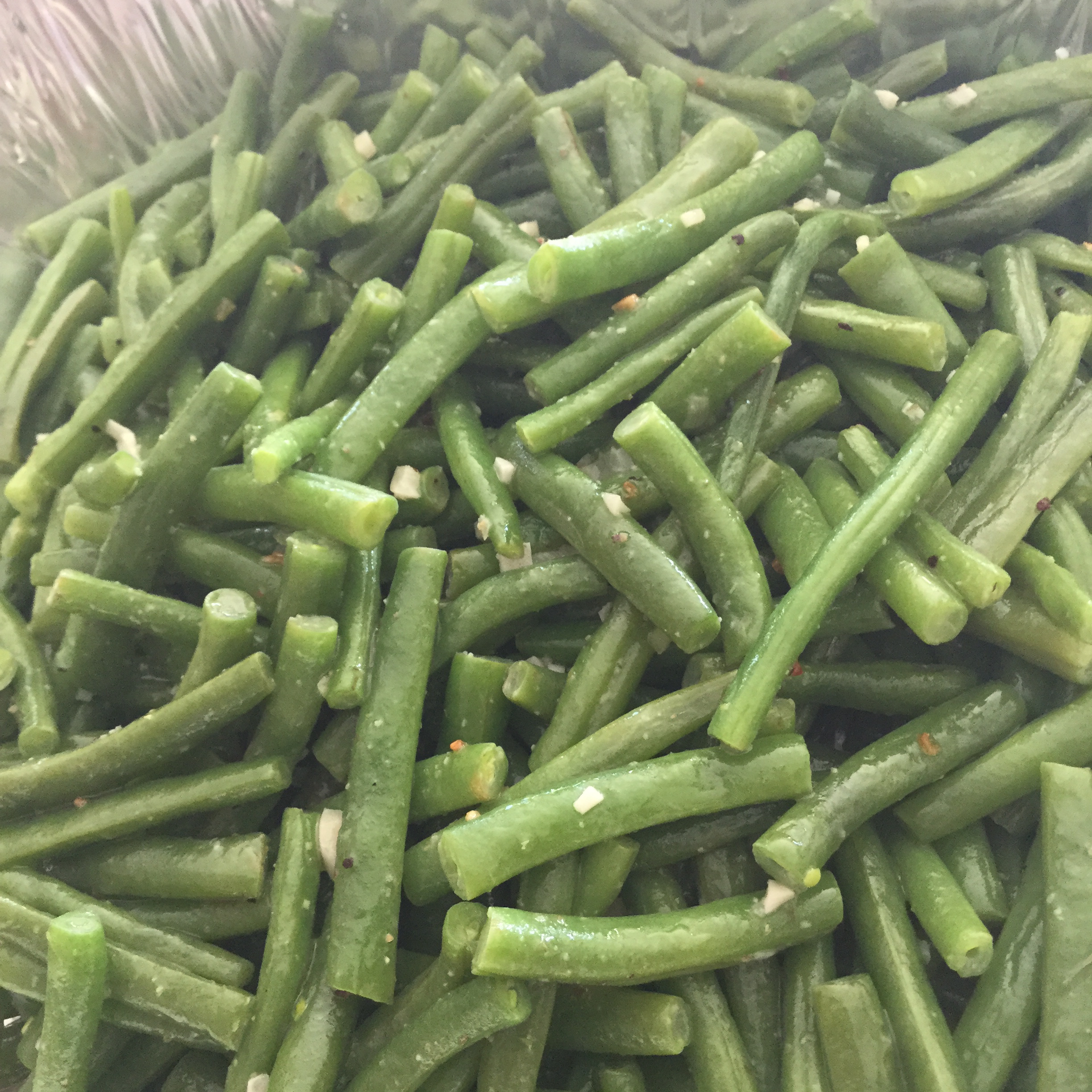 Buttery Garlic Green Beans Sally