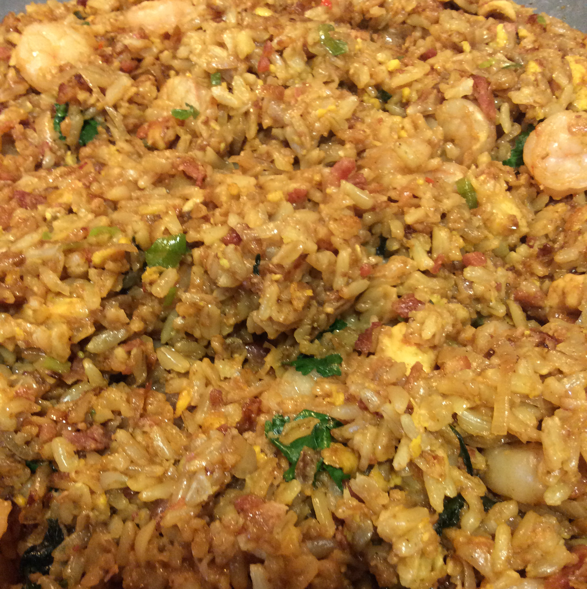 Thai Fried Rice with Pineapple and Chicken chefO