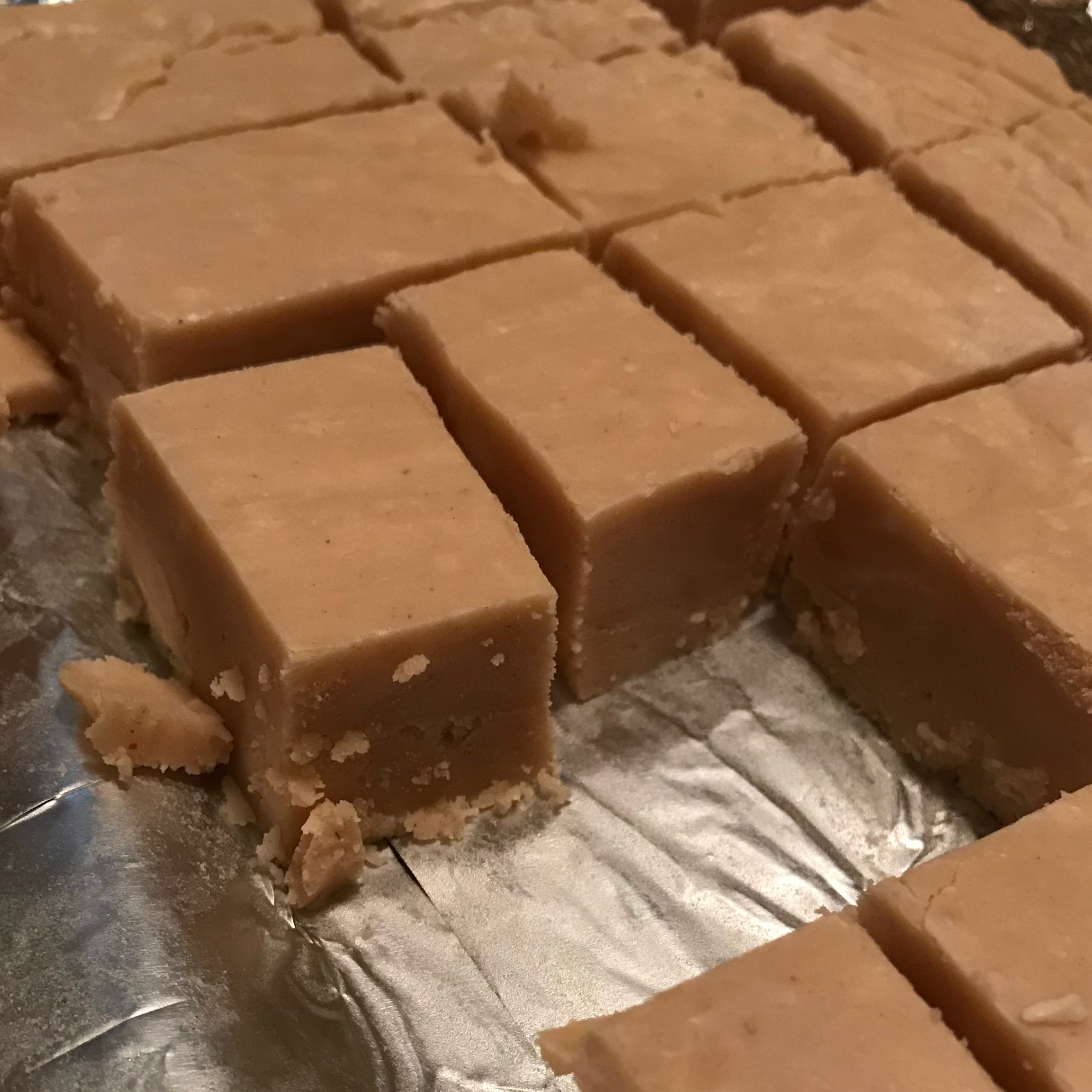 Peanut Butter Fudge with Marshmallow Creme Lesley Ann
