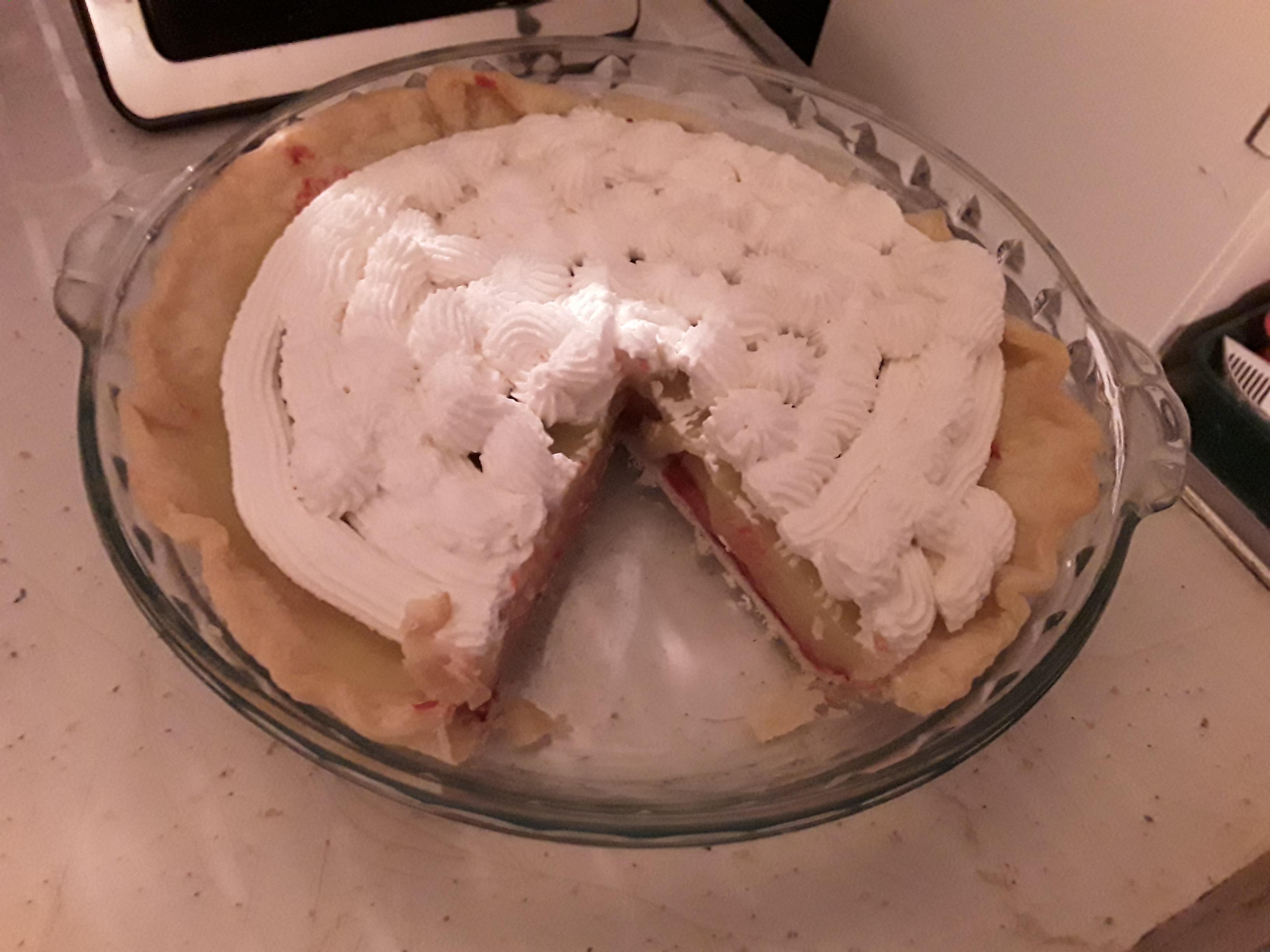 Raspberry Lemon Meringue Pie Amy Anderson