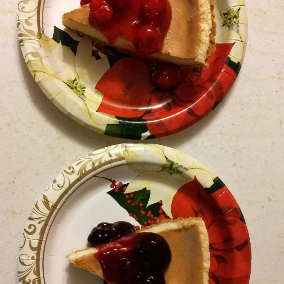 Easy Sour Cream Cheesecake Victor Gilson