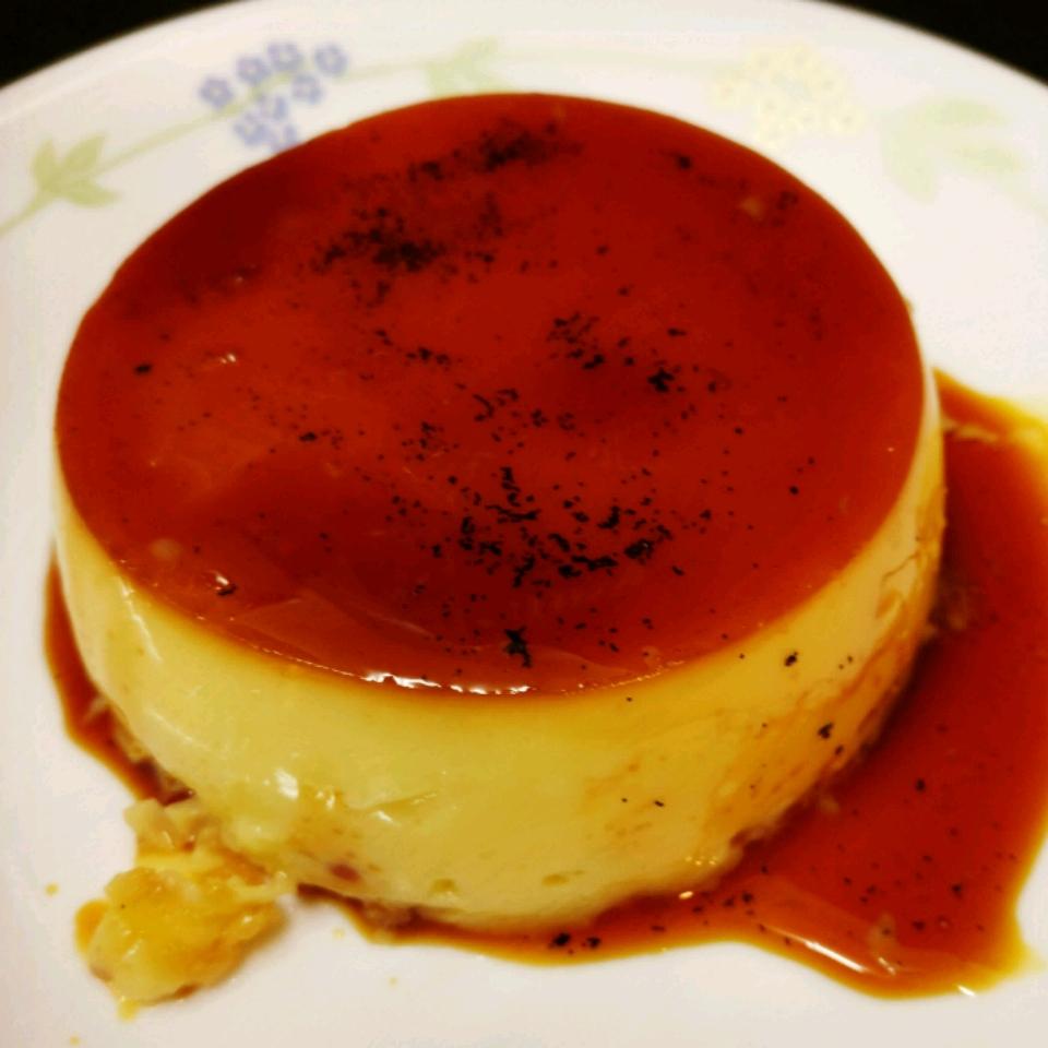 Easy Caramel Custard Sathyan