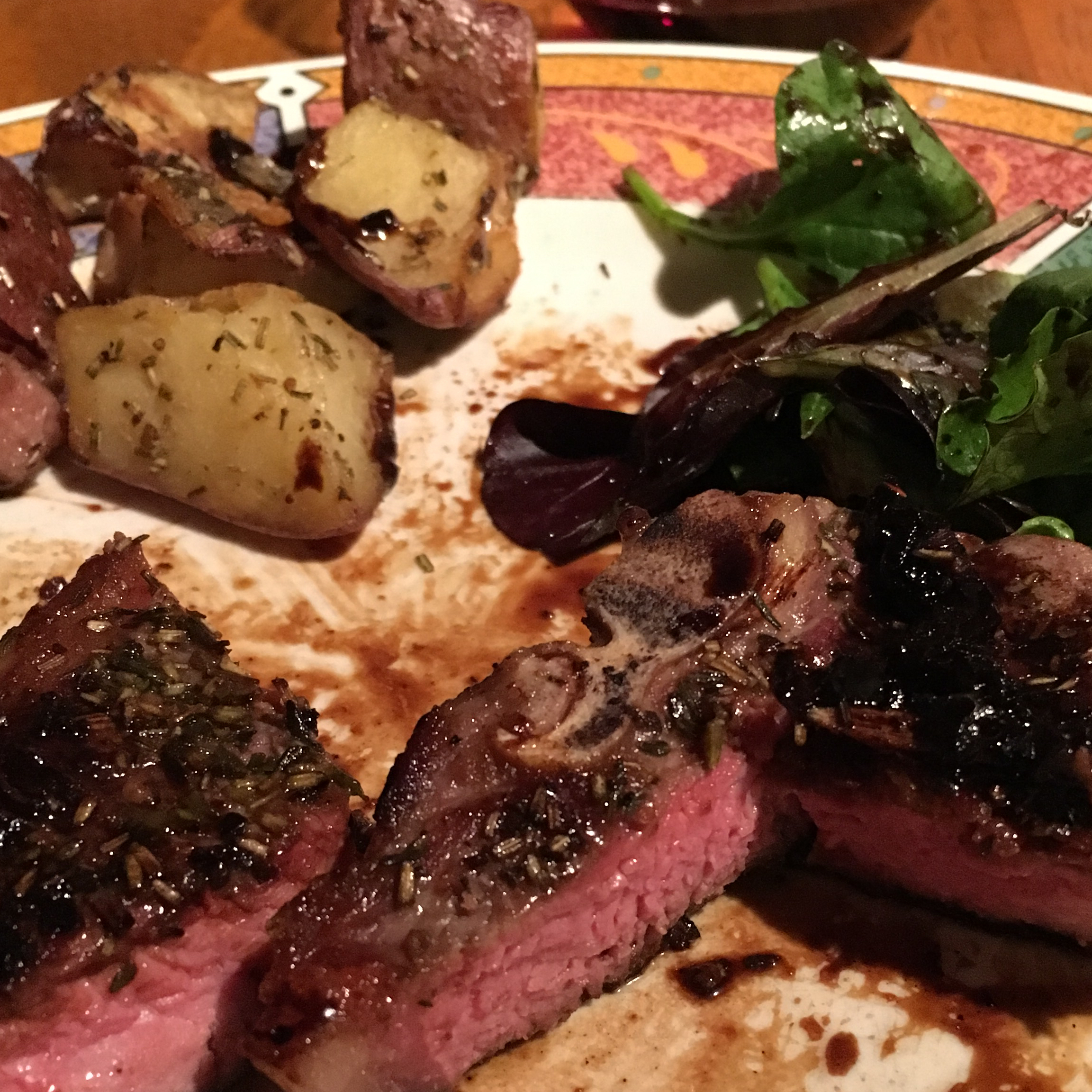 Lamb Chops with Balsamic Reduction Herman
