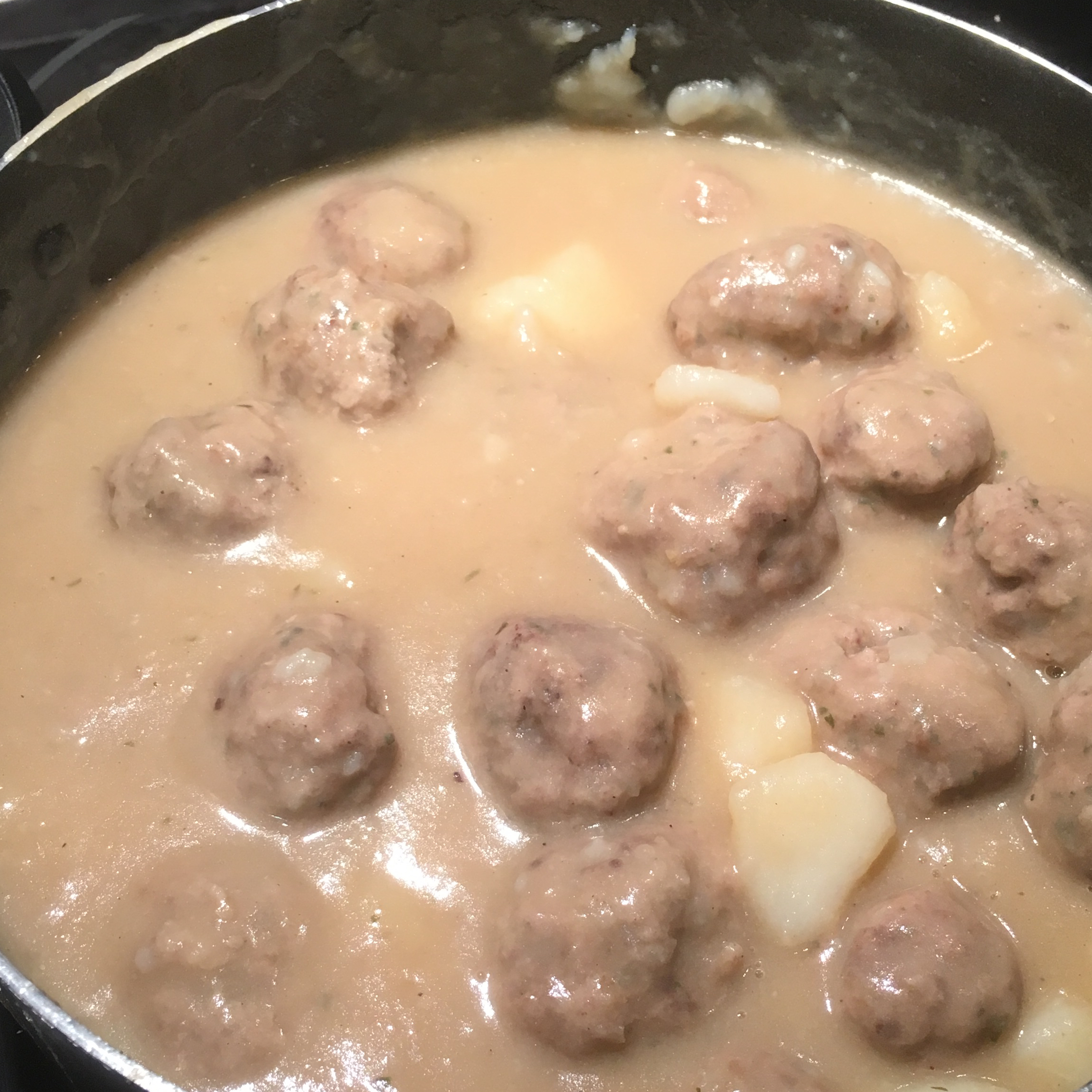 French Canadian Meatball Stew mlarocquem