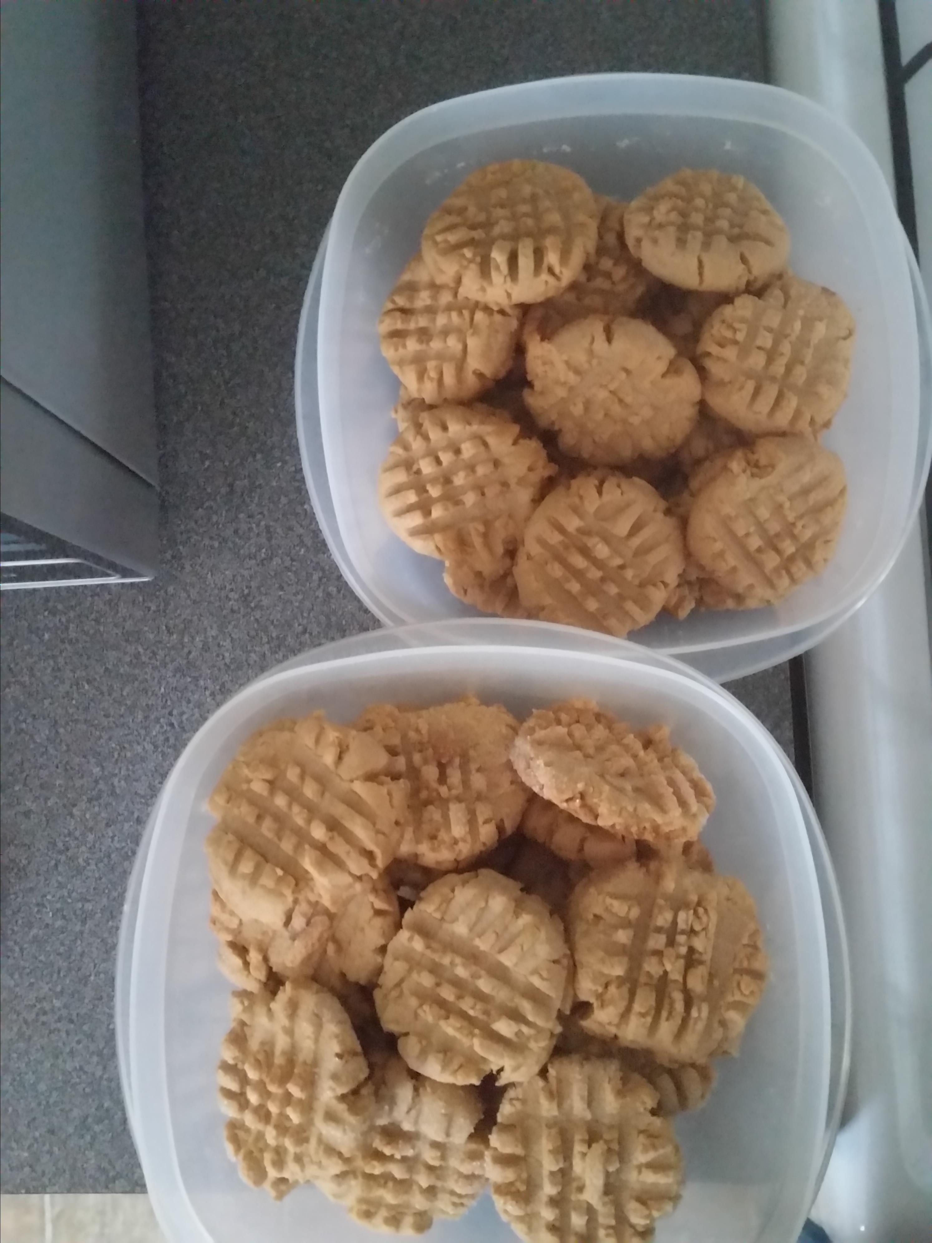 Easy Cake Mix Peanut Butter Cookies Jamie Mmmmmmmm