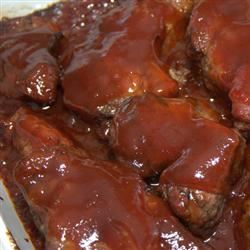 Tangy BBQ Ribs Larry Aman