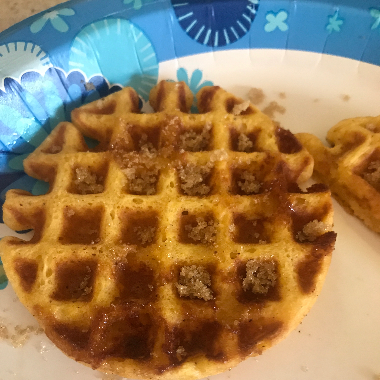 Sweet Potato Pecan Waffles turtlemama07