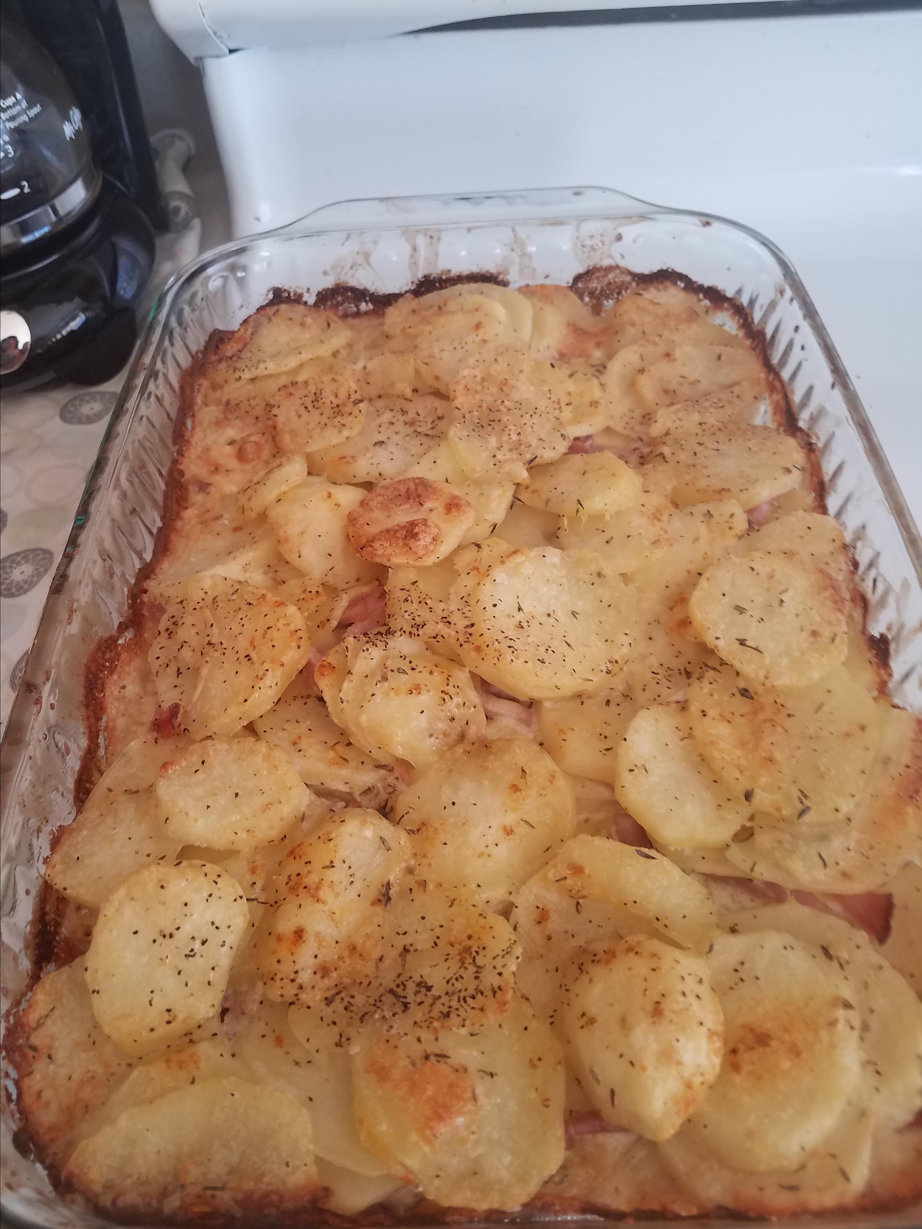 Comforting Scalloped Potatoes