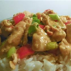 Denise's Peanut Chicken