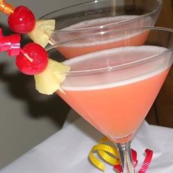 Pineapple Upside-down Cake Martinis
