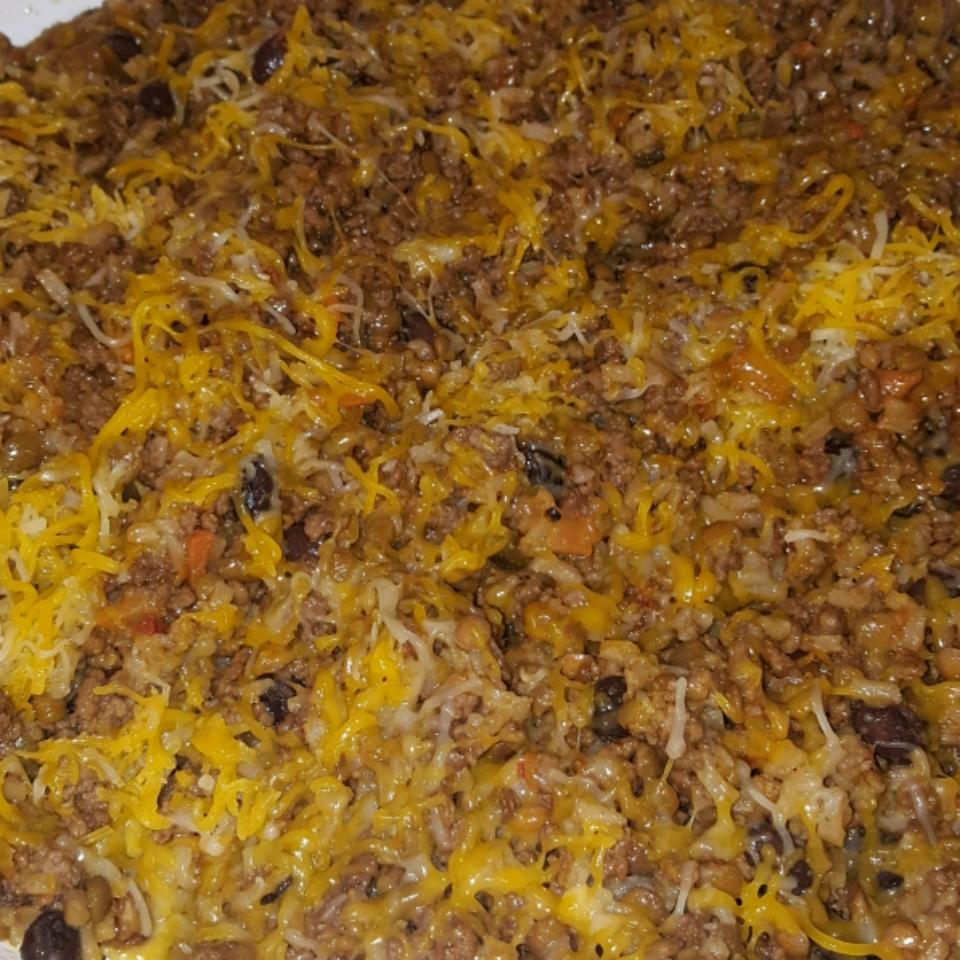 Skillet Burrito Bowl BreMarie Herge