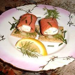 Smoked Salmon Rolls =Mark