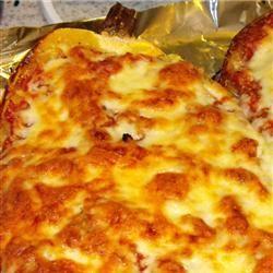 Baked Spaghetti Squash Lasagna Style OhSoMartha