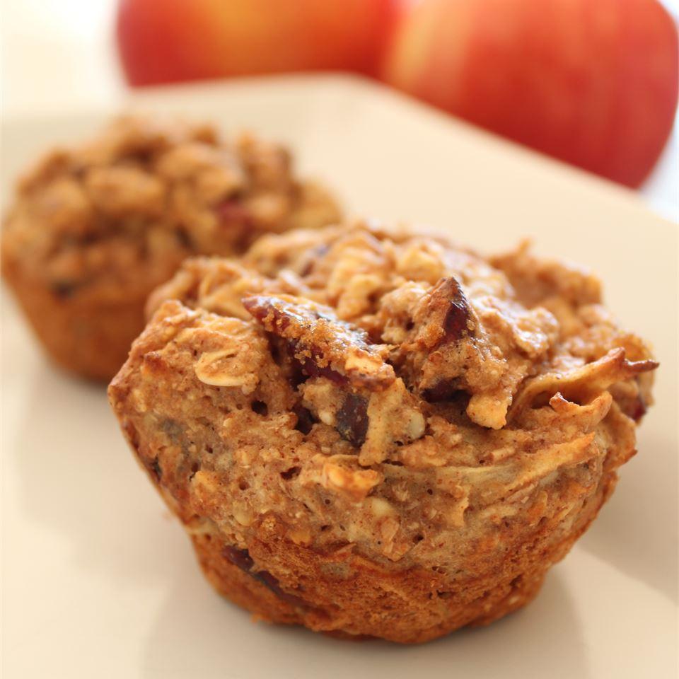 Oatmeal Apple Muffins Pepper