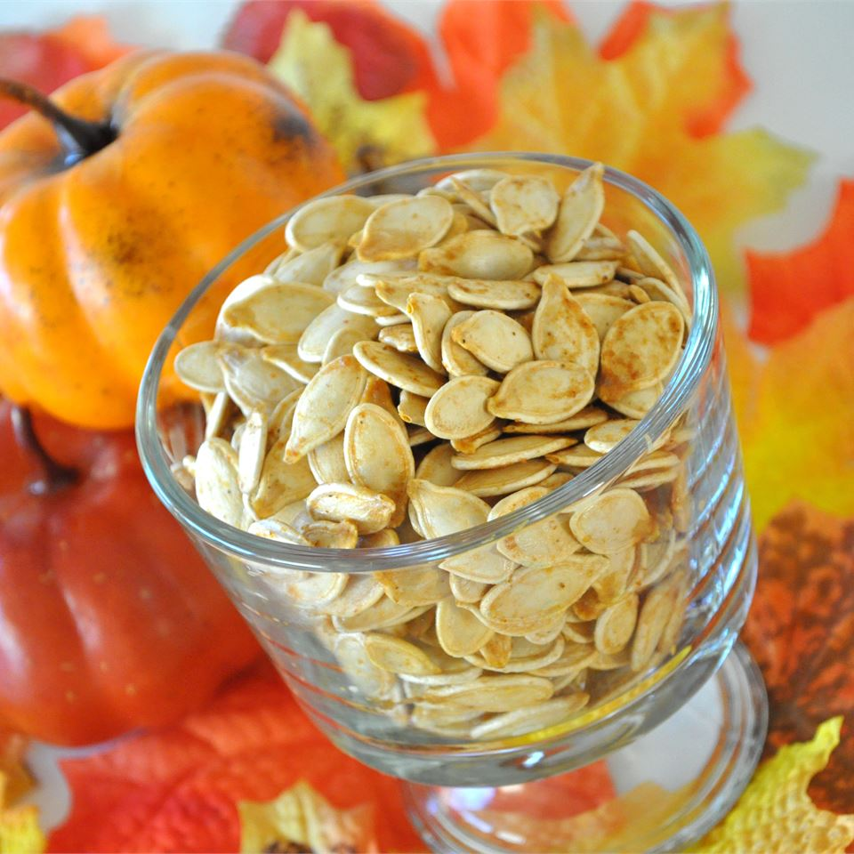 Savory Toasted Pumpkin Seeds