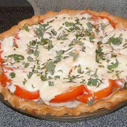 Fresh Tomato Pie Britt Terry