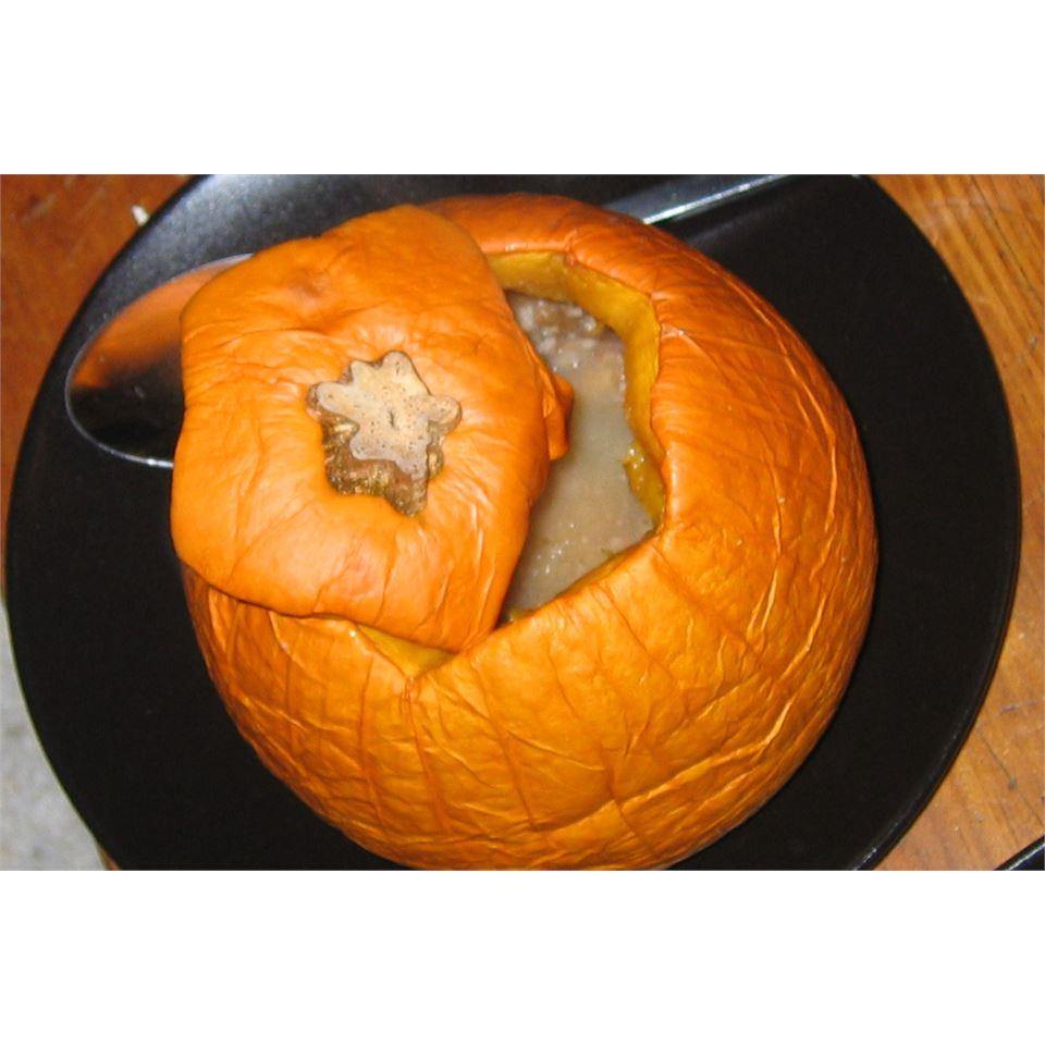 Baked Stuffed Pumpkin Em