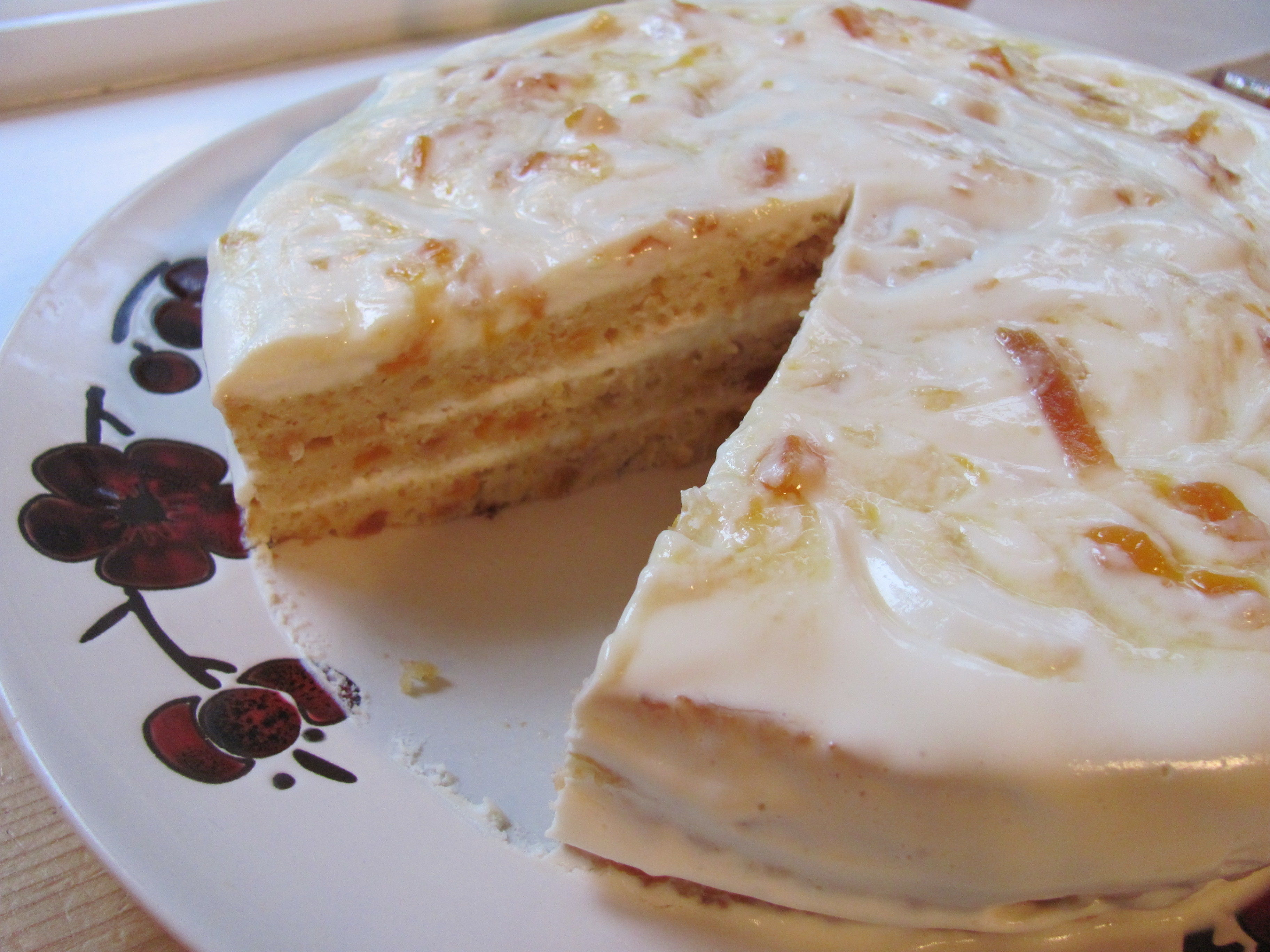 Russian Sour Cream Cake