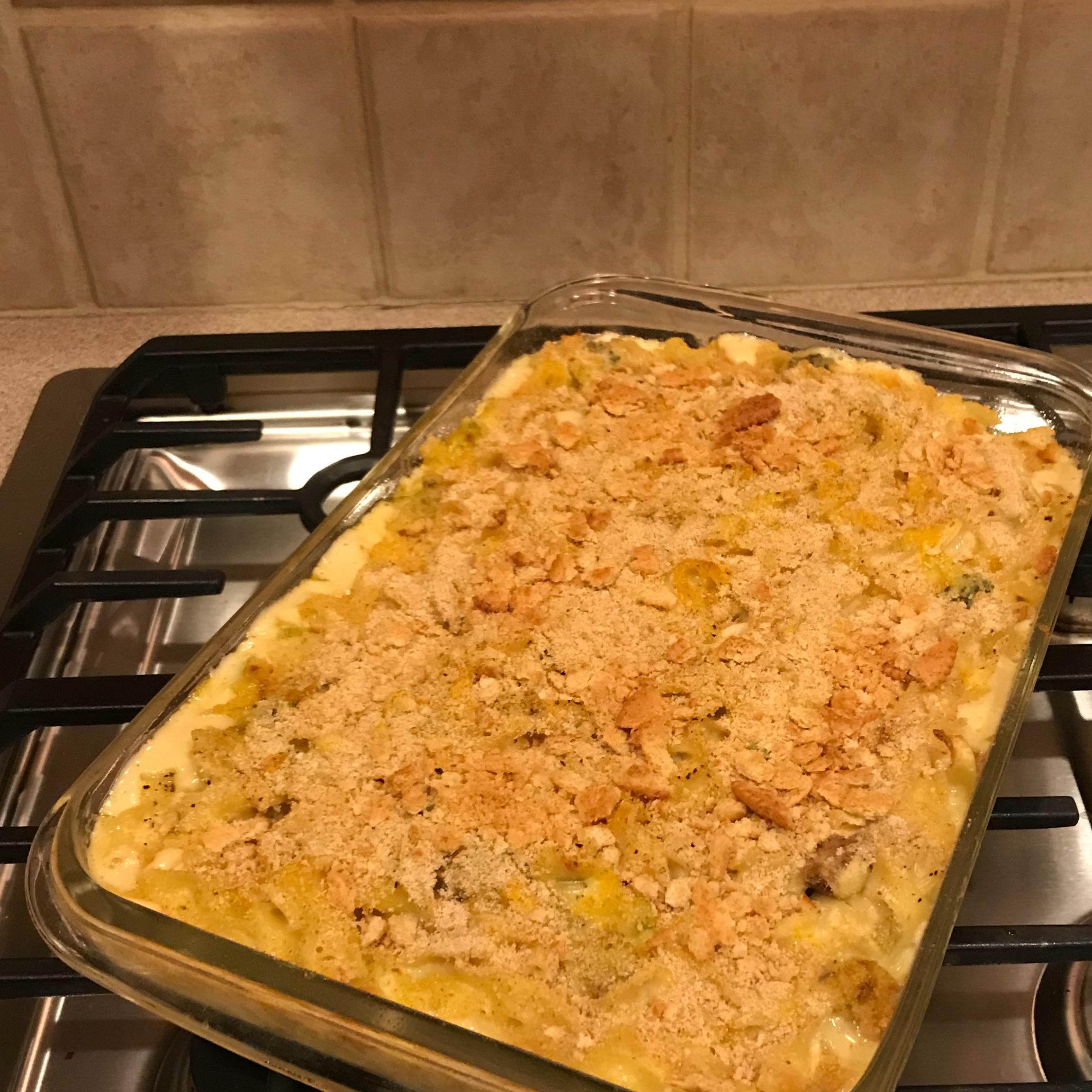 Wanda's Chicken Noodle Bake