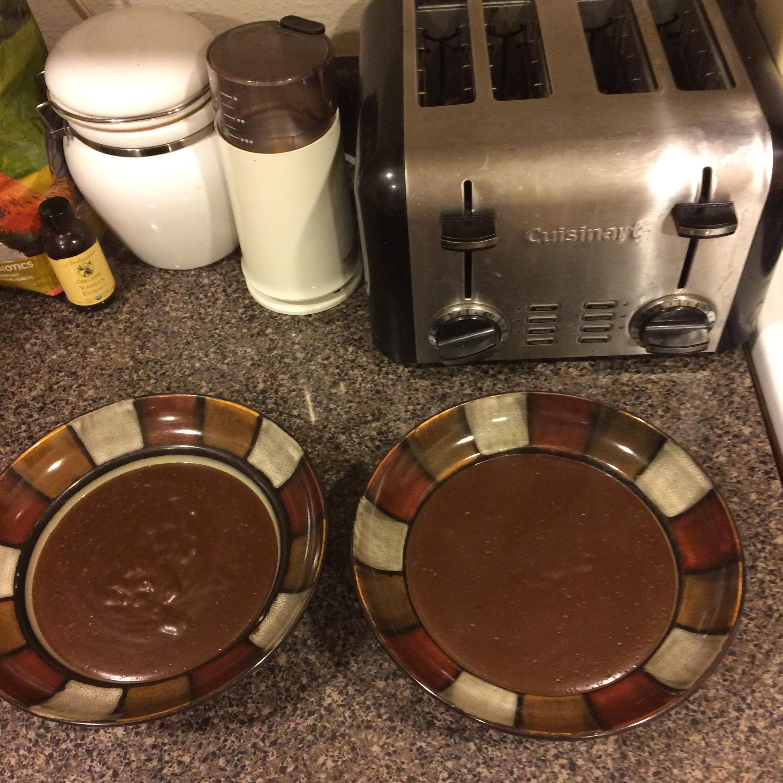 Almond Milk Chocolate Pudding